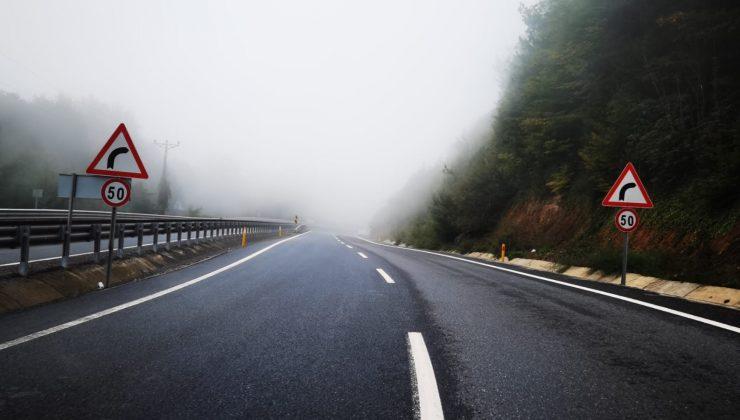 Zonguldak'ın yüksek kesimlerinde sis etkili oldu