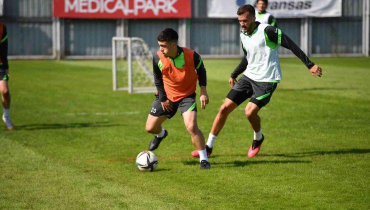 Bursaspor, Boluspor maçının taktik antrenmanını yaptı