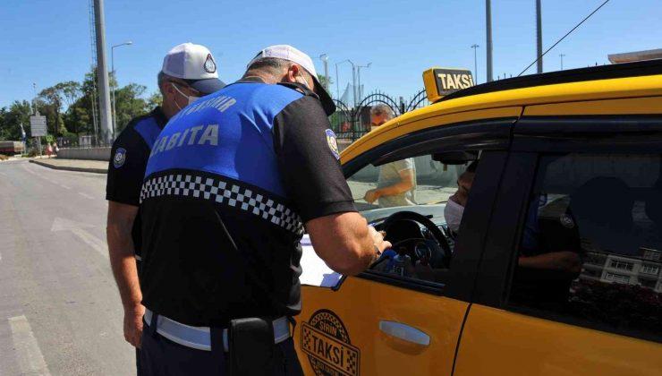 Kurallara uymayan toplu taşıma araç şoförlerine ceza yağdı