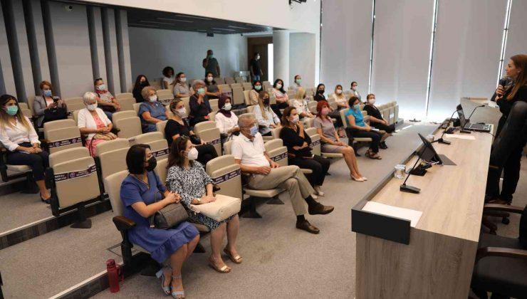 Mezitli Belediyesinden 'Meme Kanseri Farkındalık Eğitimi'