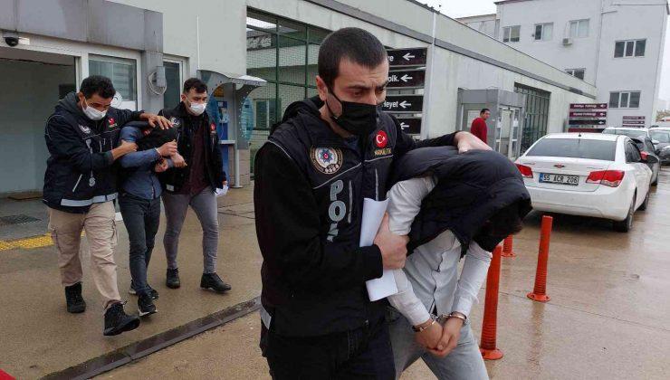 Samsun'daki uyuşturucu operasyonunda 2 kişi adli kontrolle serbest