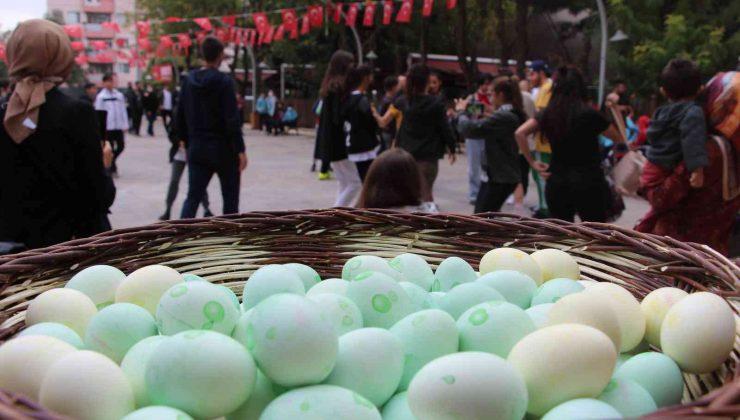 Siirt'te 8 ülkeden gençler 'Yumurta Bayramı Şenliği'nde buluştu