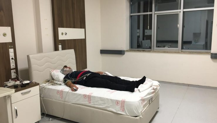 Sinop'ta uyku laboratuvarı tekrar faaliyete geçirildi
