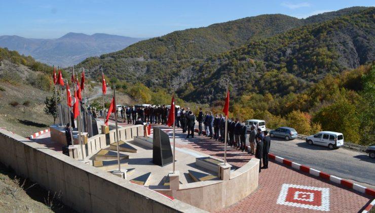 Tokat'ta şehit düşen askerler törenle anıldı