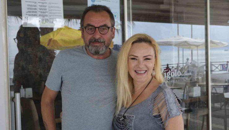 Ünlü oyuncu Ufuk Kaplan Kuşadası'nda kampa girdi